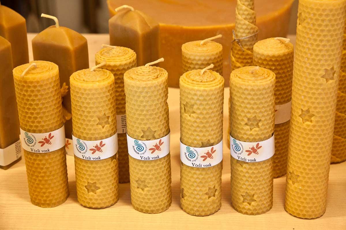 Včelí svíčky