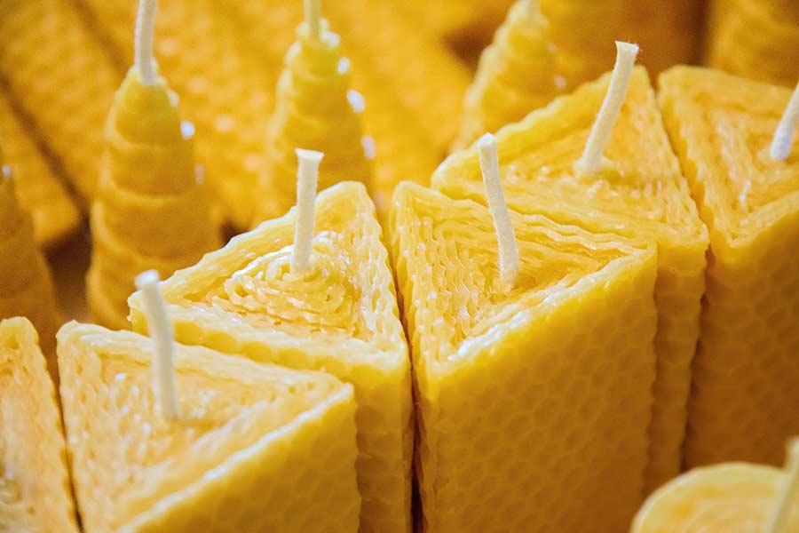 Medové svíčky
