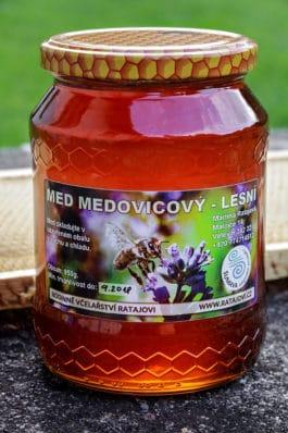 Med medovicový lesní